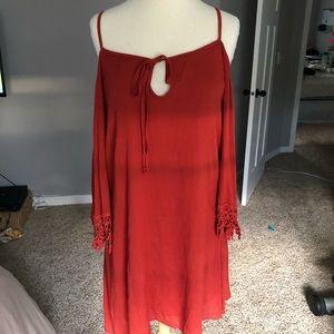 Charlotte Russe Cold Shoulder Dress